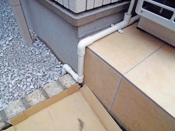 塩化ビニル管排水処理1