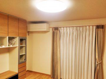 新築エアコン施工事例リビング:東京都目黒区 W様