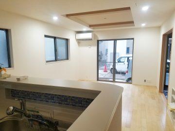 新築エアコン施工事例リビング:東京都国分寺市 M様
