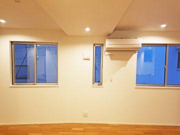 新築エアコン施工事例リビング:東京都大田区 Y様
