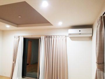 新築エアコン施工事例リビング:東京都多摩市 S様