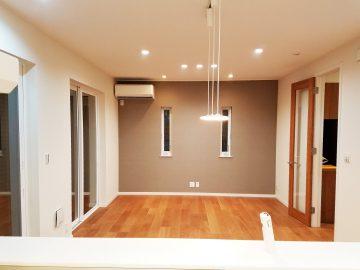新築エアコン施工事例リビング:東京都江戸川区 K様