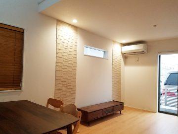 新築エアコン施工事例リビング:埼玉県和光市 F様