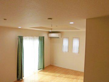 新築エアコン施工事例リビング:東京都調布市 K様