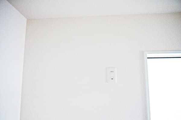 エアコン室内機の取り付け位置