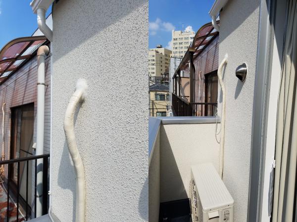 量販店さんや引っ越し屋さんのエアコン標準工事