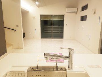 新築エアコン施工事例リビング:東京都豊島区 C様1