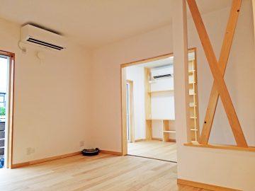 新築エアコン施工事例リビング:埼玉県川口市 F様