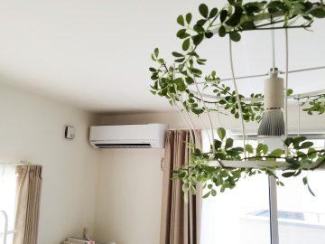 新築エアコン施工事例リビング:埼玉県三郷市 K様