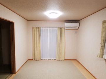 新築エアコン施工事例リビング:埼玉県嵐山町 I様