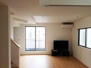 新築エアコン施工事例リビング:埼玉県さいたま市 I様