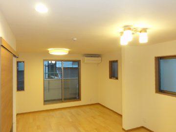新築エアコン施工事例リビング:東京都新宿区 M様