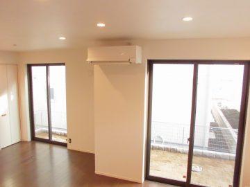 新築エアコン施工事例リビング:東京都西東京市 S様